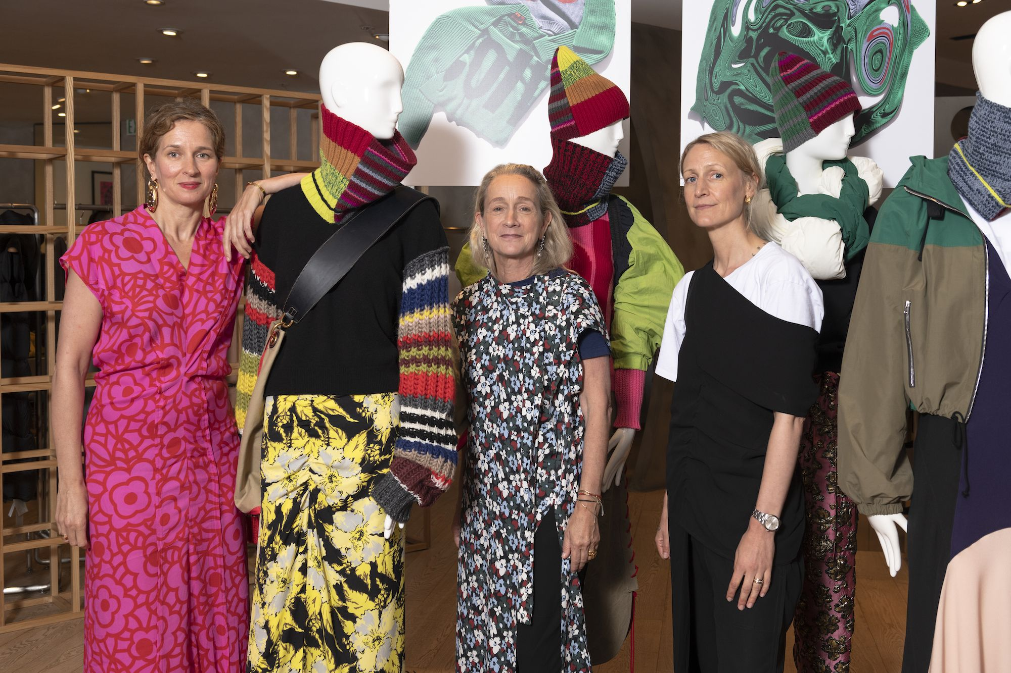 Meet The Founders Of Colville, An Eclectic British Brand By Ex-Marni Designers
