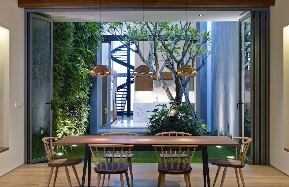 17 Blair Road, in Singapore, by Ong&Ong. Photograph: Aaron Pocock (courtesy Thames & Hudson)