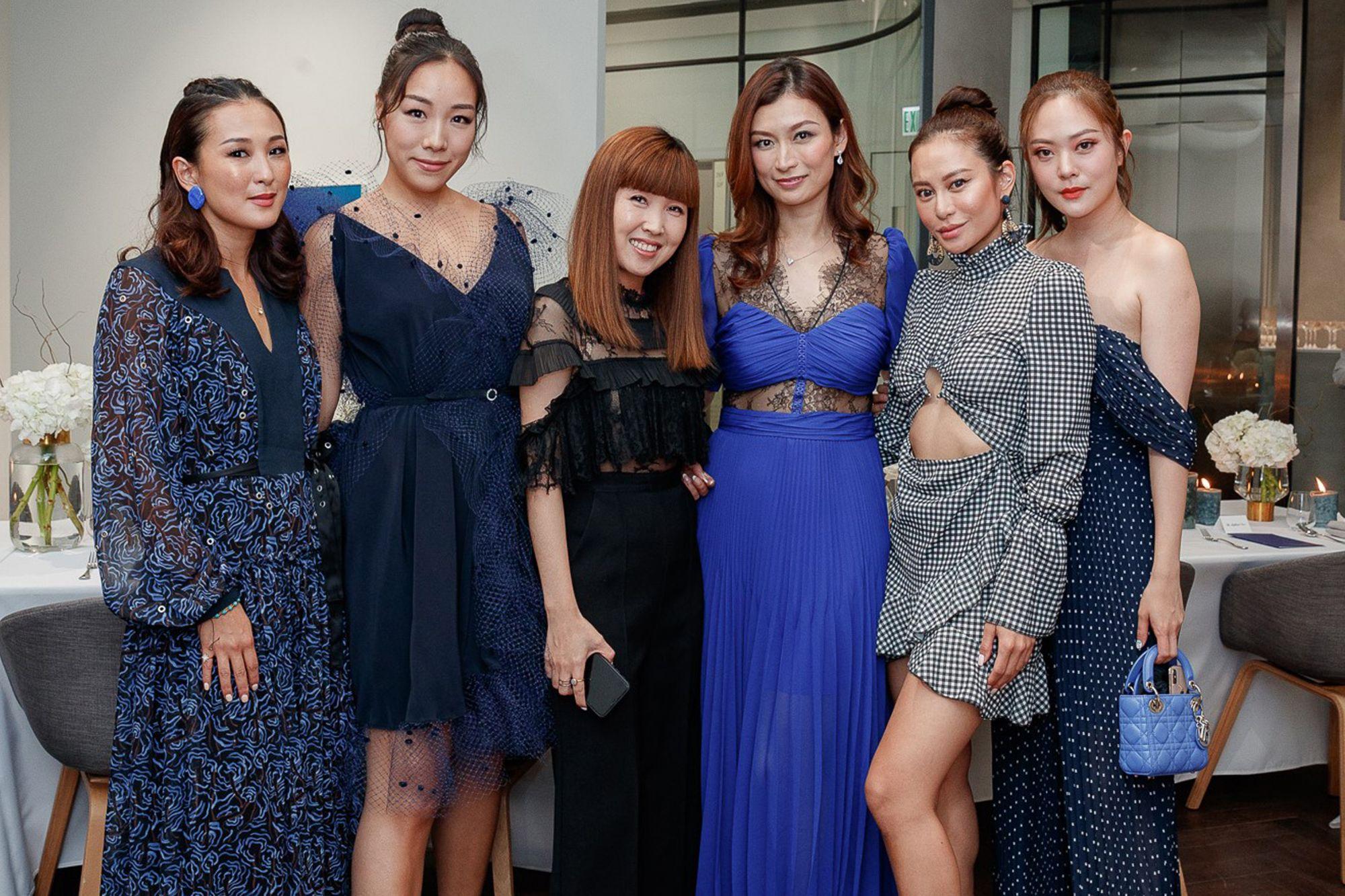 Antonia Li, Feiping Chang, Emmy Yuen, Colleen Fung, Eleanor Lam, René Chu