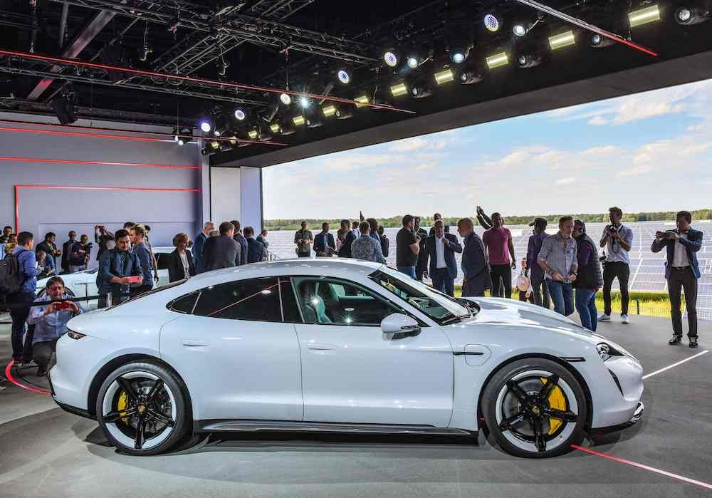 Porsche Unveils The Taycan The Company S First Ever Electric Car Tatler Thailand