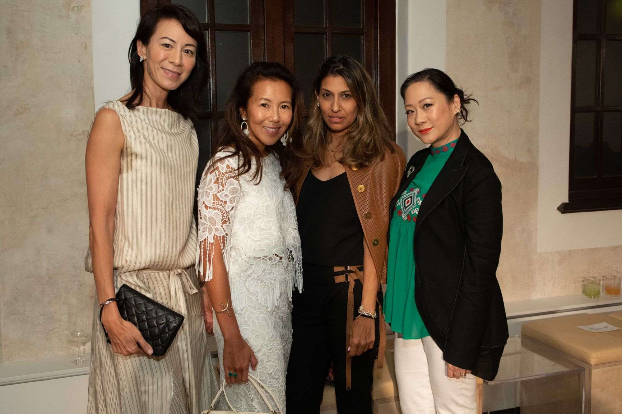 Patricia Tung-Gaw, Jacinta Yu-Kuok, Malti Dialdas, Yuda Chan