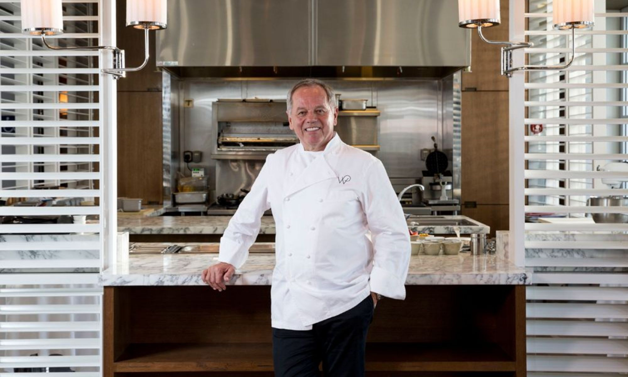 Celebrity Chef Wolfgang Puck Opens His First Restaurant At Hong Kong International Airport