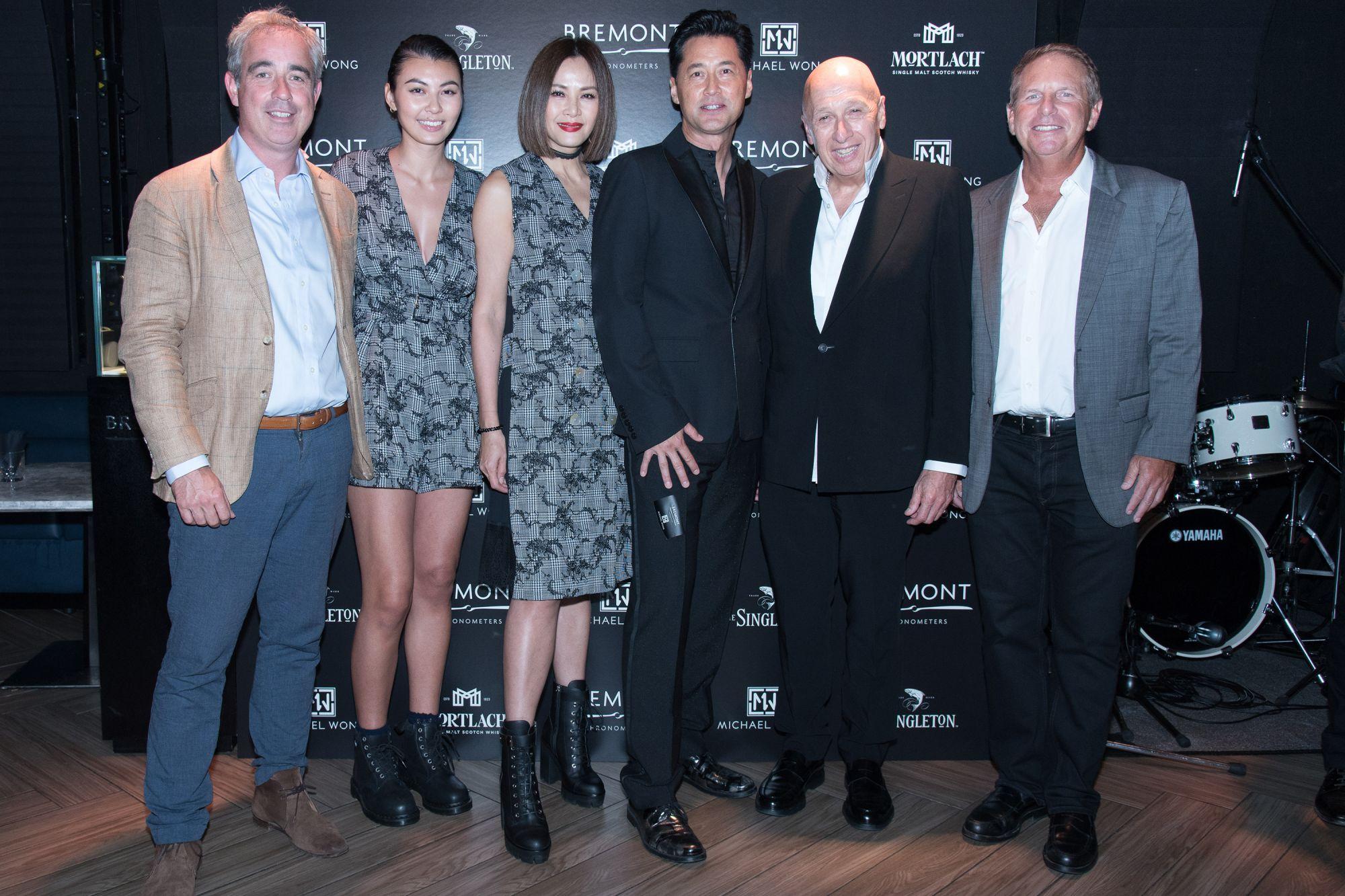 Giles English, Irisa Wong, Janet Ma, Michael Wong, Allan Zeman, Bruce Rockowitz
