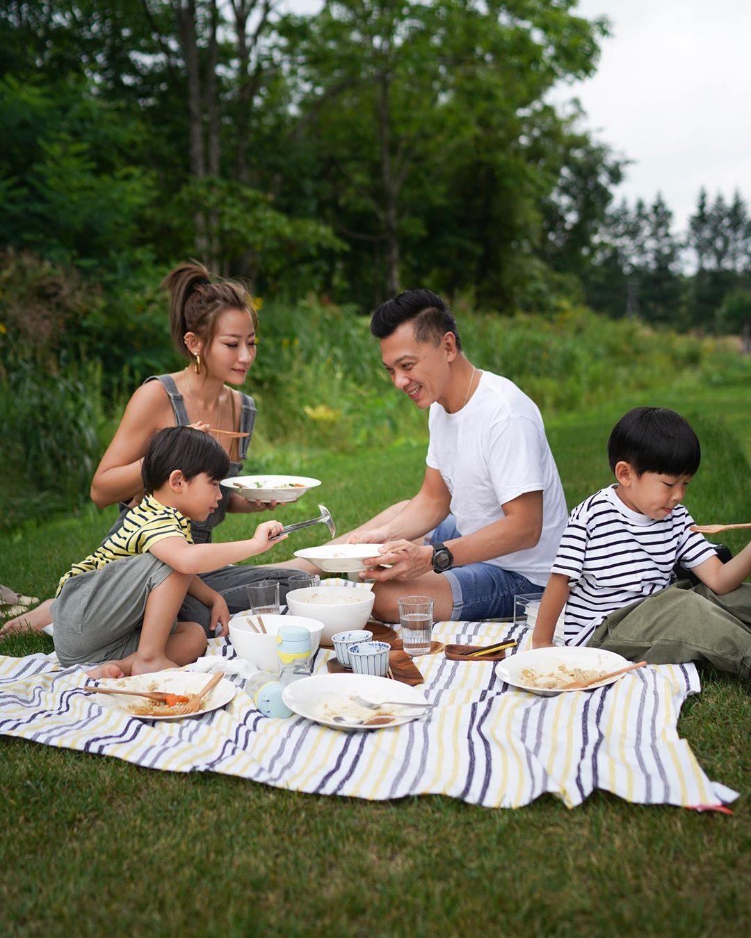 10 Best Tatlergrams: Esther Sham Enjoys A Memorable Family Picnic And More