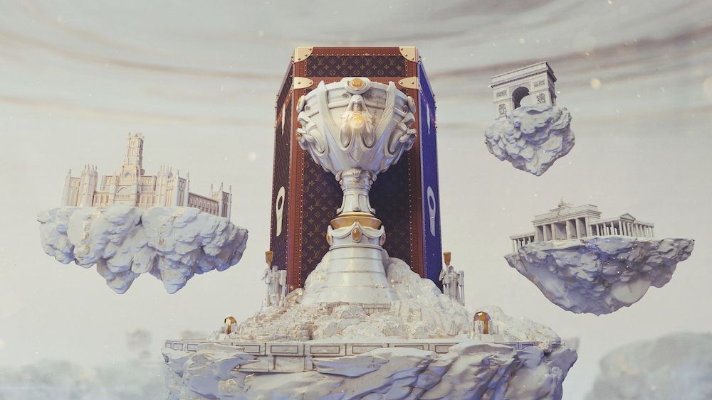 Louis Vuitton teams up with League of Legends for an unexpected luxury collaboration (image courtesy Louis Vuitton)