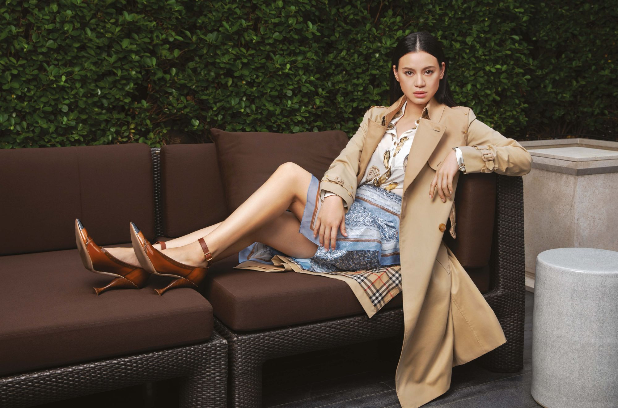 Entrenched Versatility: What Emily Lam-Ho Loves About Burberry's Iconic Trench Coat