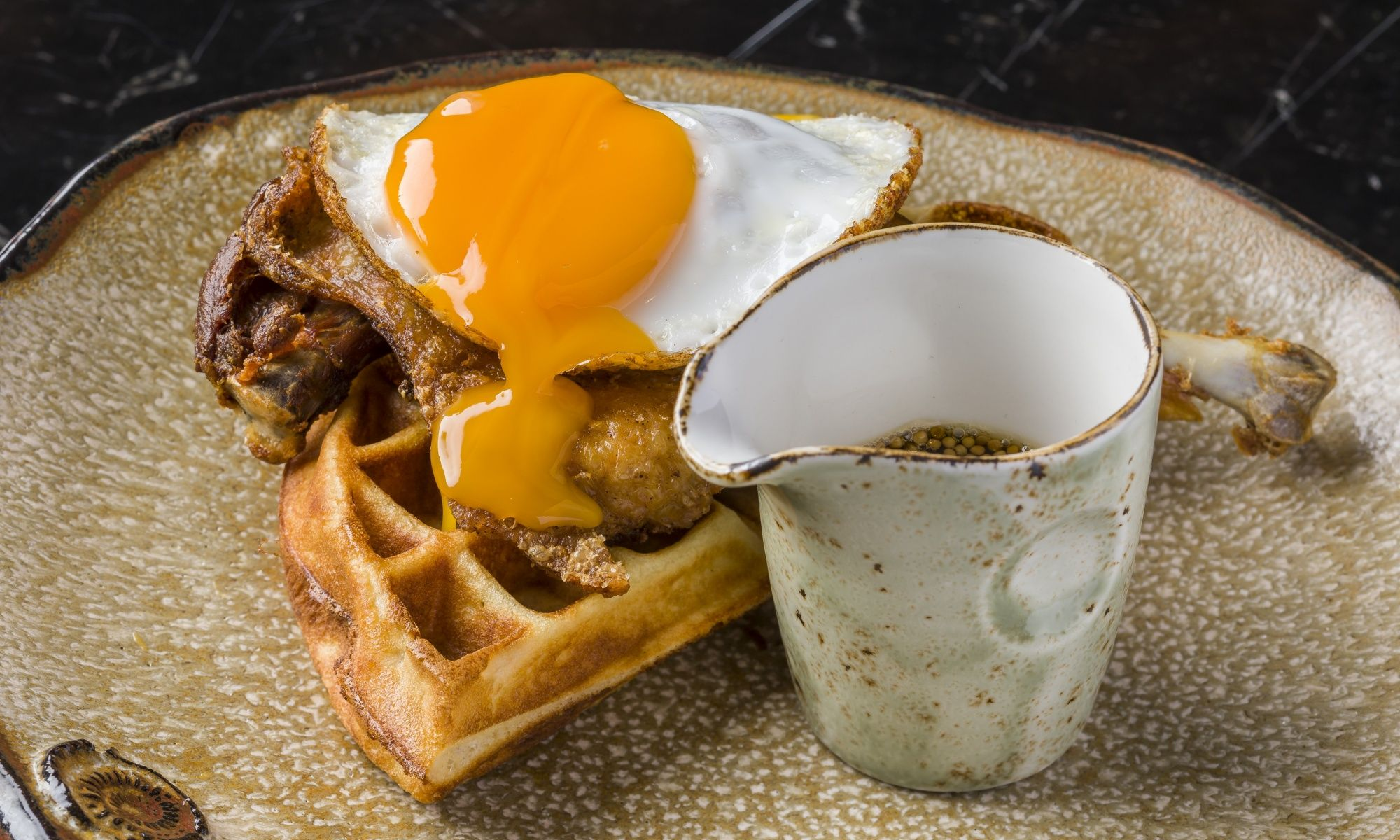 Restaurant Review: Red Flags And Fowl Play At Central's Duck & Waffle
