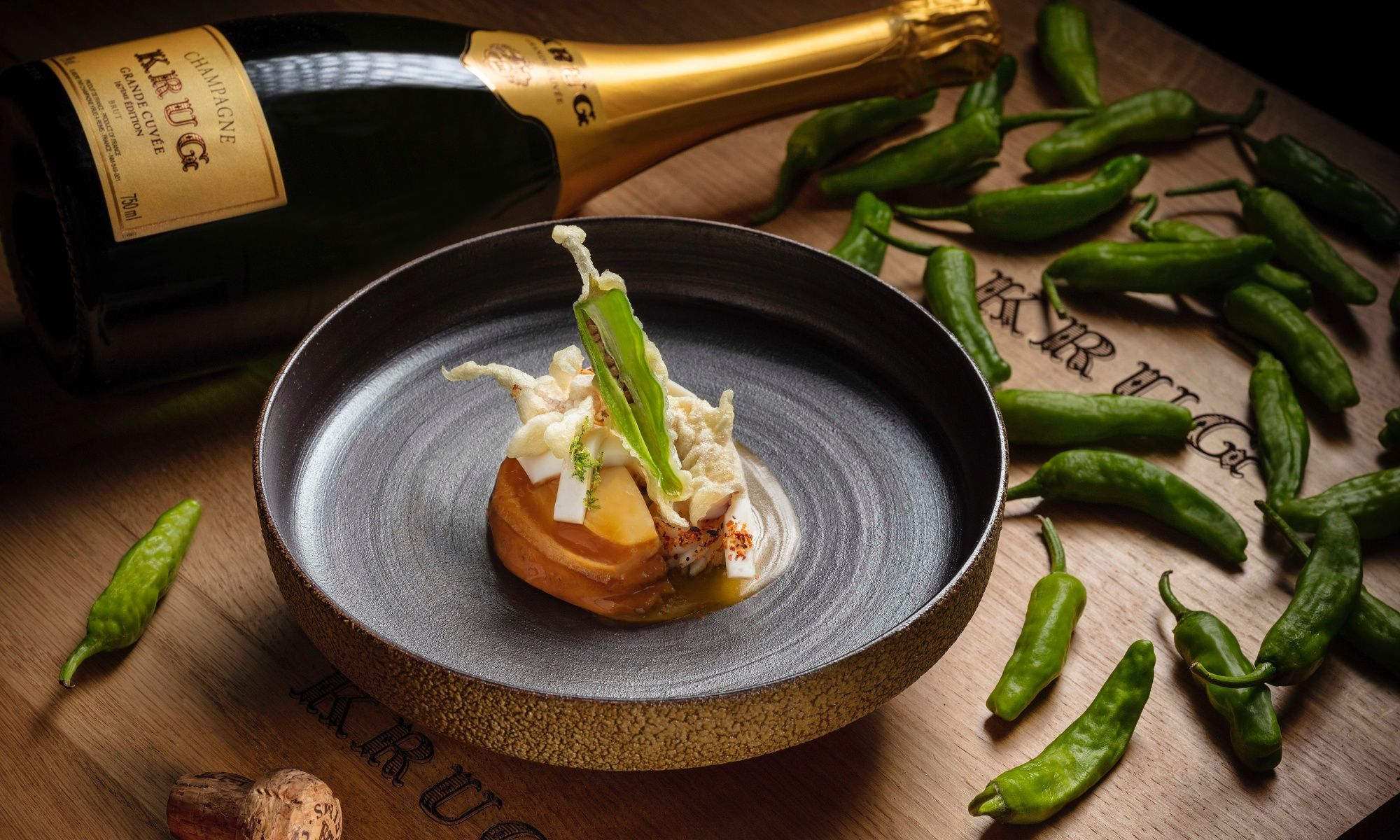 6 Chefs In Hong Kong To Collaborate With Krug Champagne On New Pepper Campaign