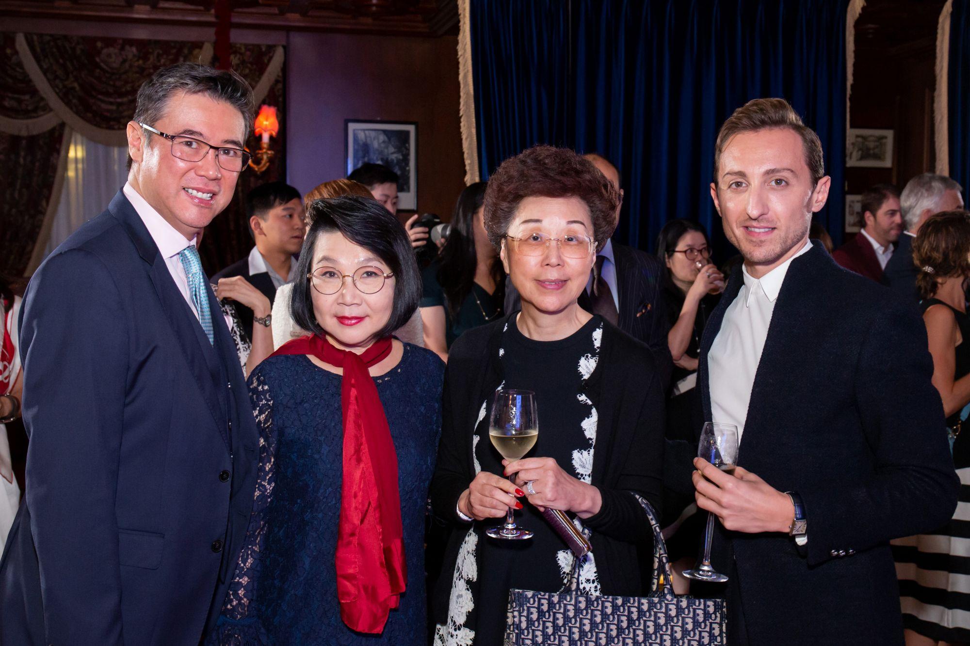 Andrew Yuen, Janice Choi, Mignonne Cheng, Julien-Loïc Garin