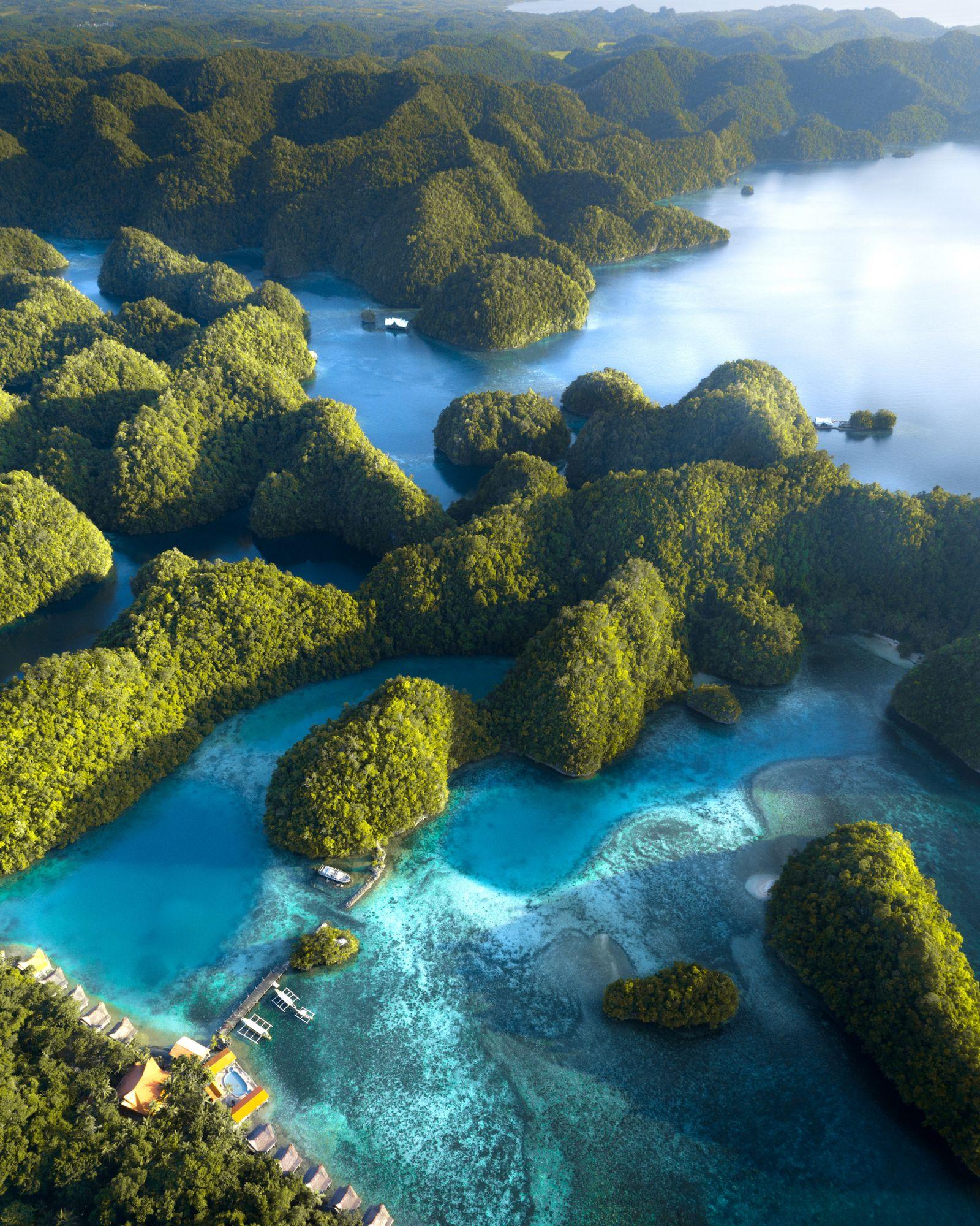 Lagoons found in Bucas Grande Island, Siargao Philippines
