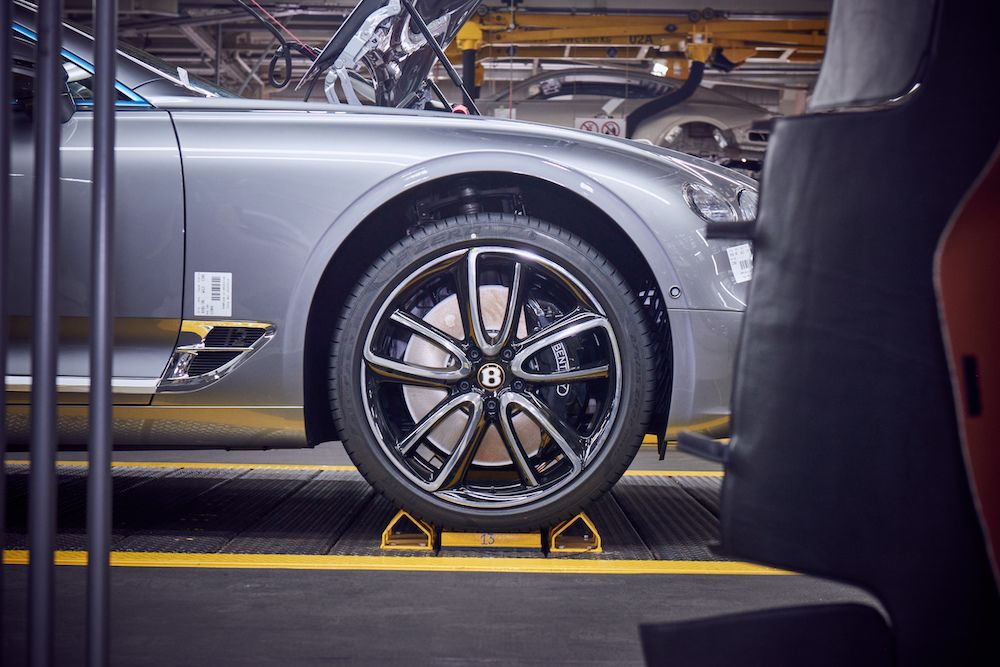 Bentley earns carbon-neutral certification (photo: courtesy Bentley)