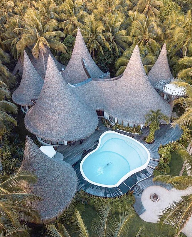 hut by the beach