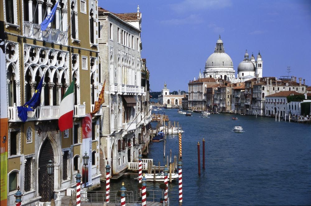 View of Venice from the Canale Grande. Italy (photo: Getty Images)