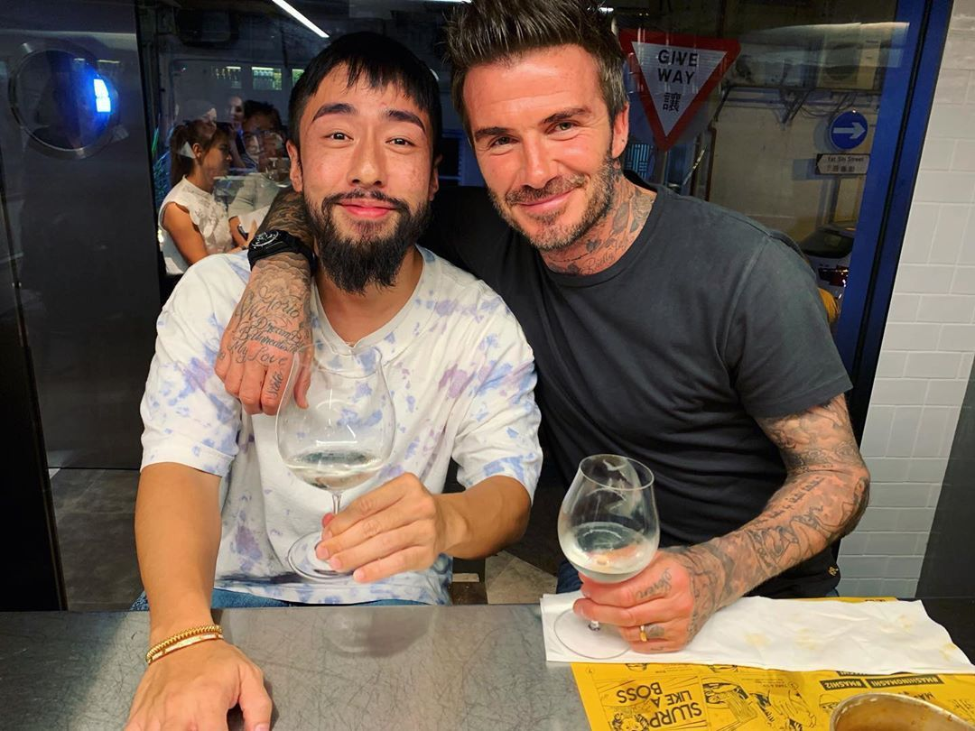 10 Best Tatlergrams: Kevin Poon Spends A Memorable Evening With David Beckham And More
