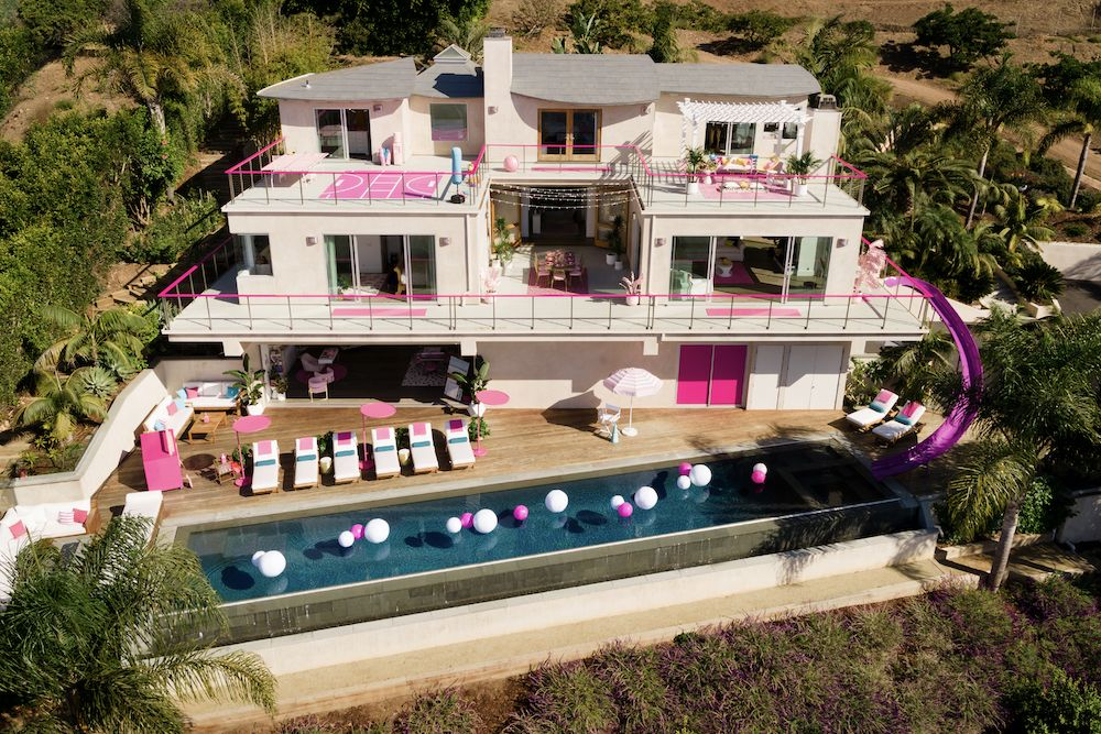 Barbie's Malibu Dreamhouse is available for rent on Airbnb (photo: Courtesy Airbnb)