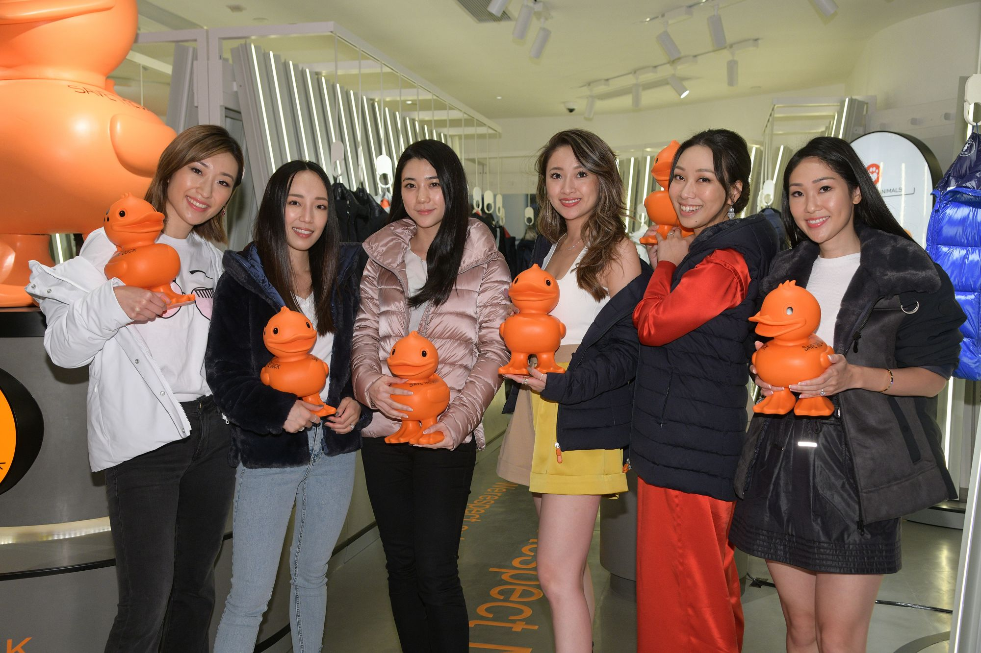 Save The Duck Store Launch Celebration @ K11 MUSEA
