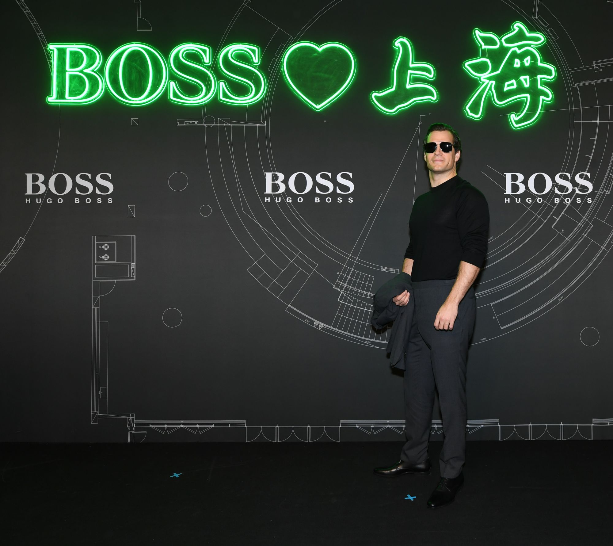 Boss loves Shanghai: Hugo Boss Unveils Pre-fall Collection 2019