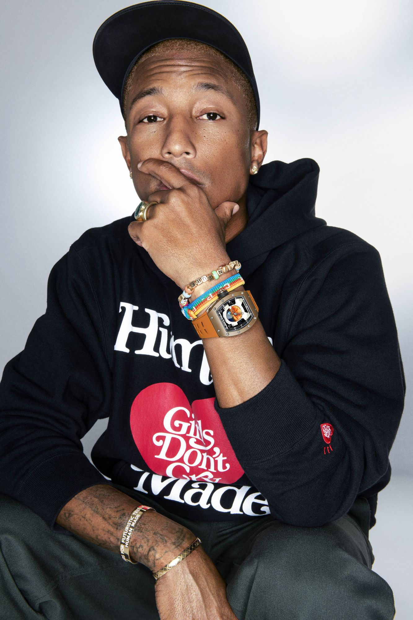 This Is The US$1 Million Watch Pharrell Williams Is Wearing