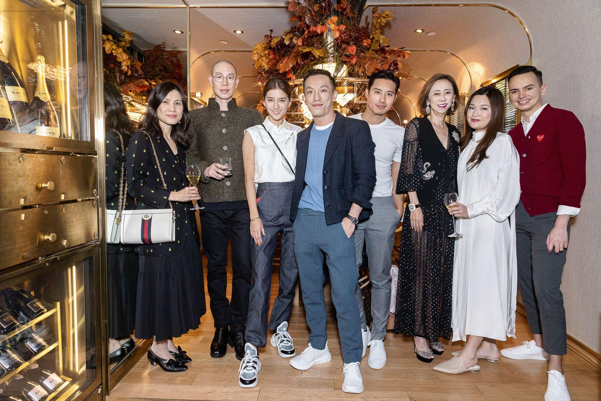 Michelle Tang, Zing Ng, Karena Ng, Harris Chan, Keno Lung, Shirley Chan, Queenie Rosita Law, Christian Barlow