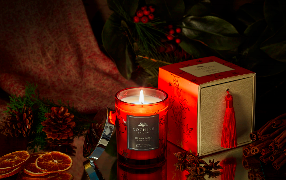 Cochine Orange Amère and Star Anise Limited Edition Candle