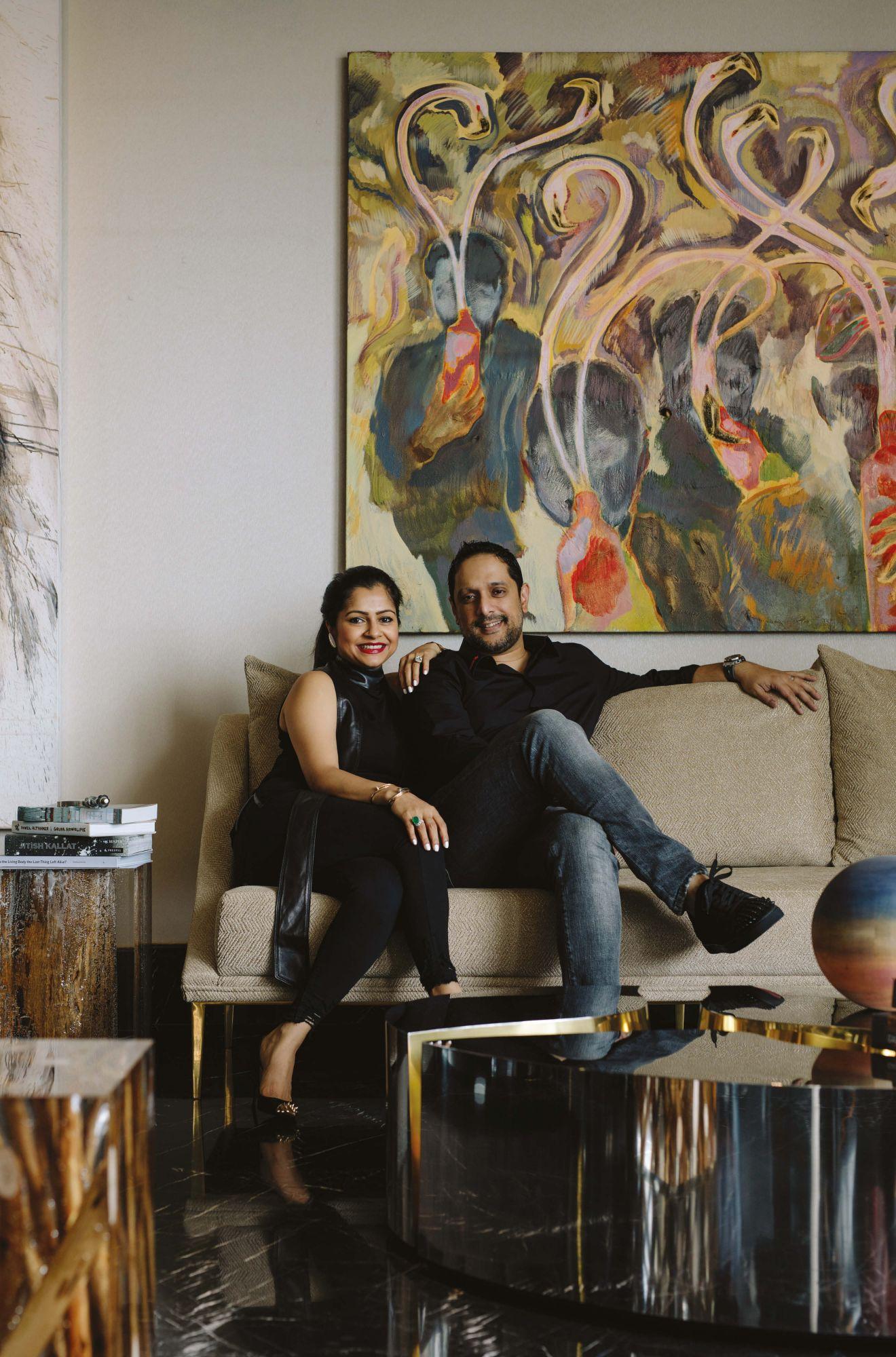 Inside Art-Collecting Couple Nadia and Rajeeb Samdani's Impressive Home in Dhaka