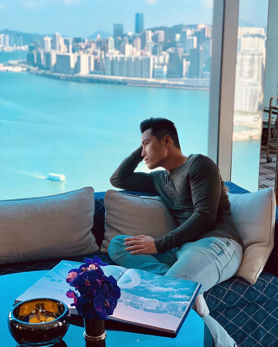 10 Best Tatlergrams: Loui Lim Enjoys A Staycation At Rosewood Hong Kong And More
