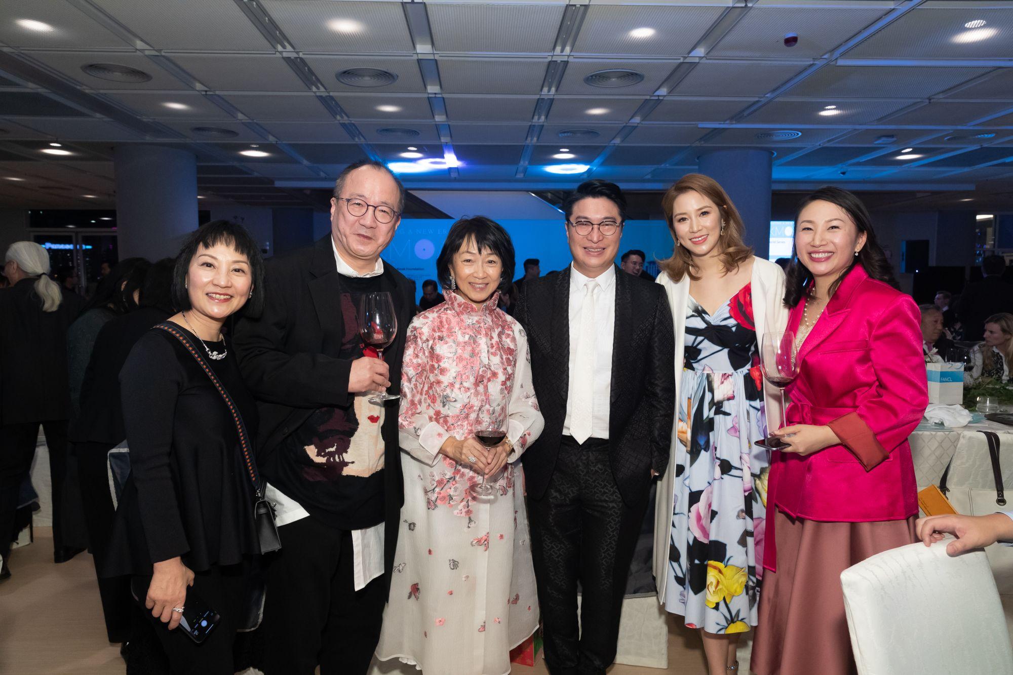 Mr. Stephen Suen and his wife, Nancy Lee, Martin Lee, Cathy Lee, Elaine Kwok