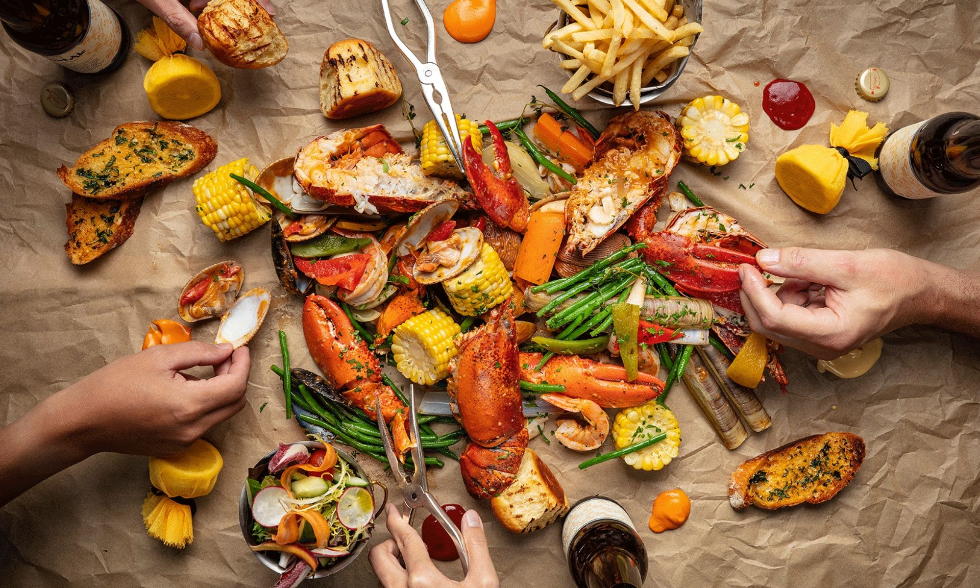 Lobster Bar and Grill Launches New Orleans-Style Lobster Boil
