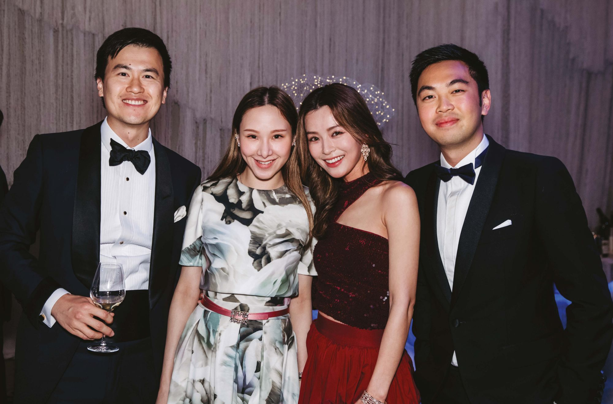 Carl Wu, Stephnie Shek, Janice Man and Adrian Cheung