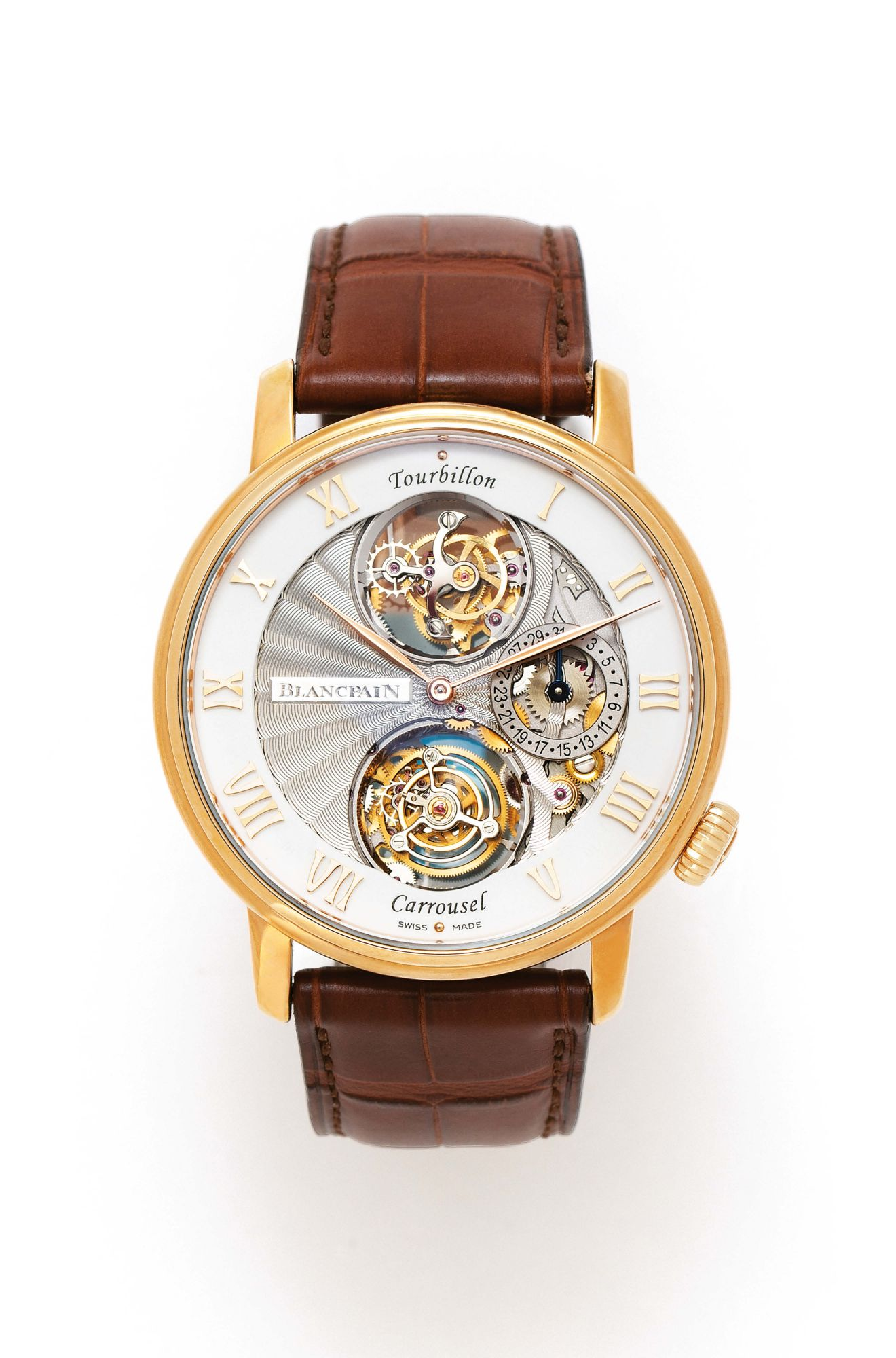 5 Things To Know About The Villeret Tourbillon Carrousel By Blancpain