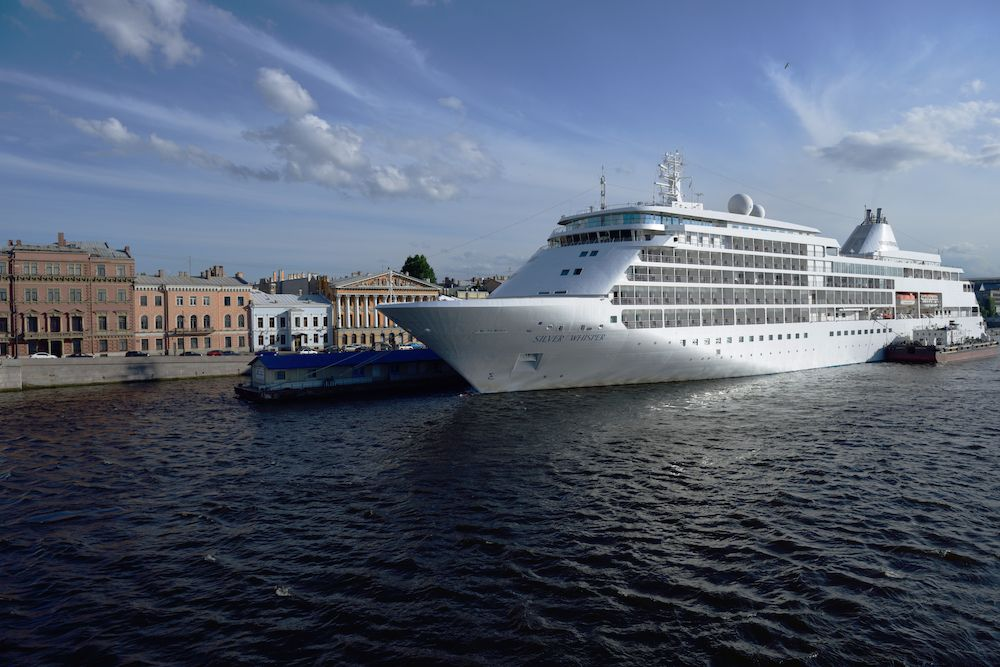 Silversea Silver Whisper embarks on the first 140-day cruise to visit all seven continents (photo: Silversea)