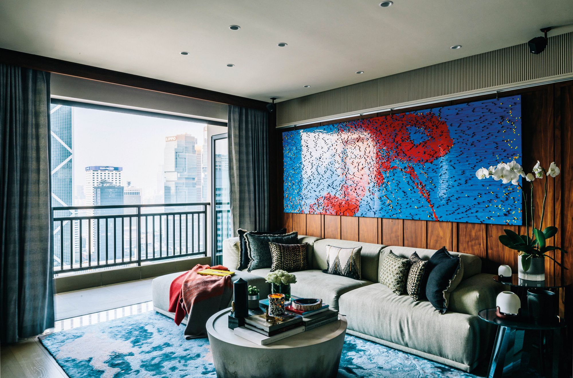 This Eclectic, Art-Filled Home In Mid-Levels Is A Work Of Art