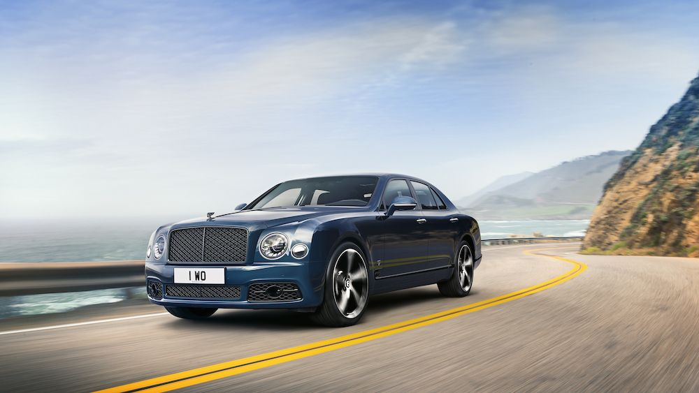 This Special Edition Bentley Mulsanne Marks The End Of The Brand's Flagship Sedan