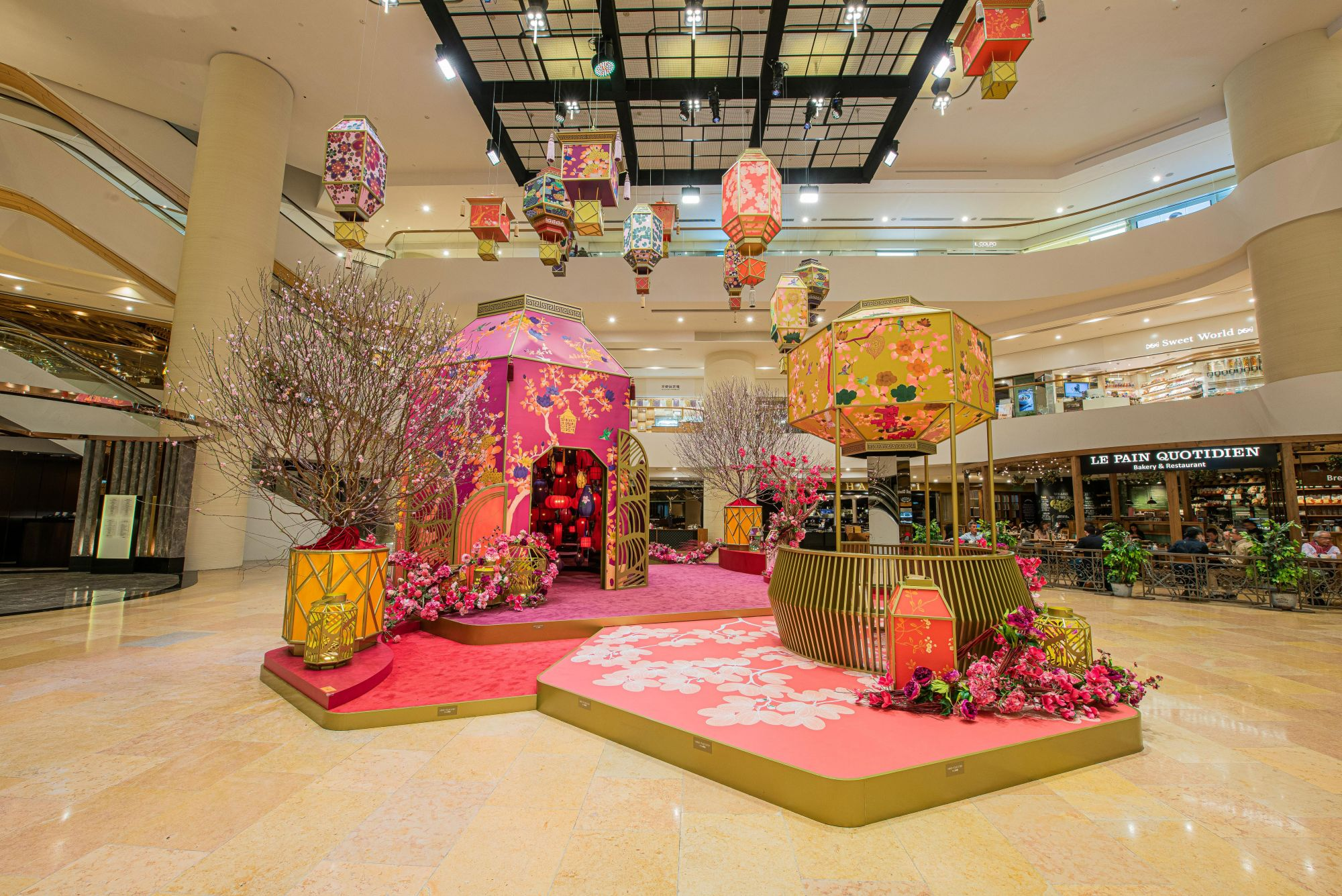 Chinese New Year 2020 Decorations To Catch In Hong Kong Shopping Malls