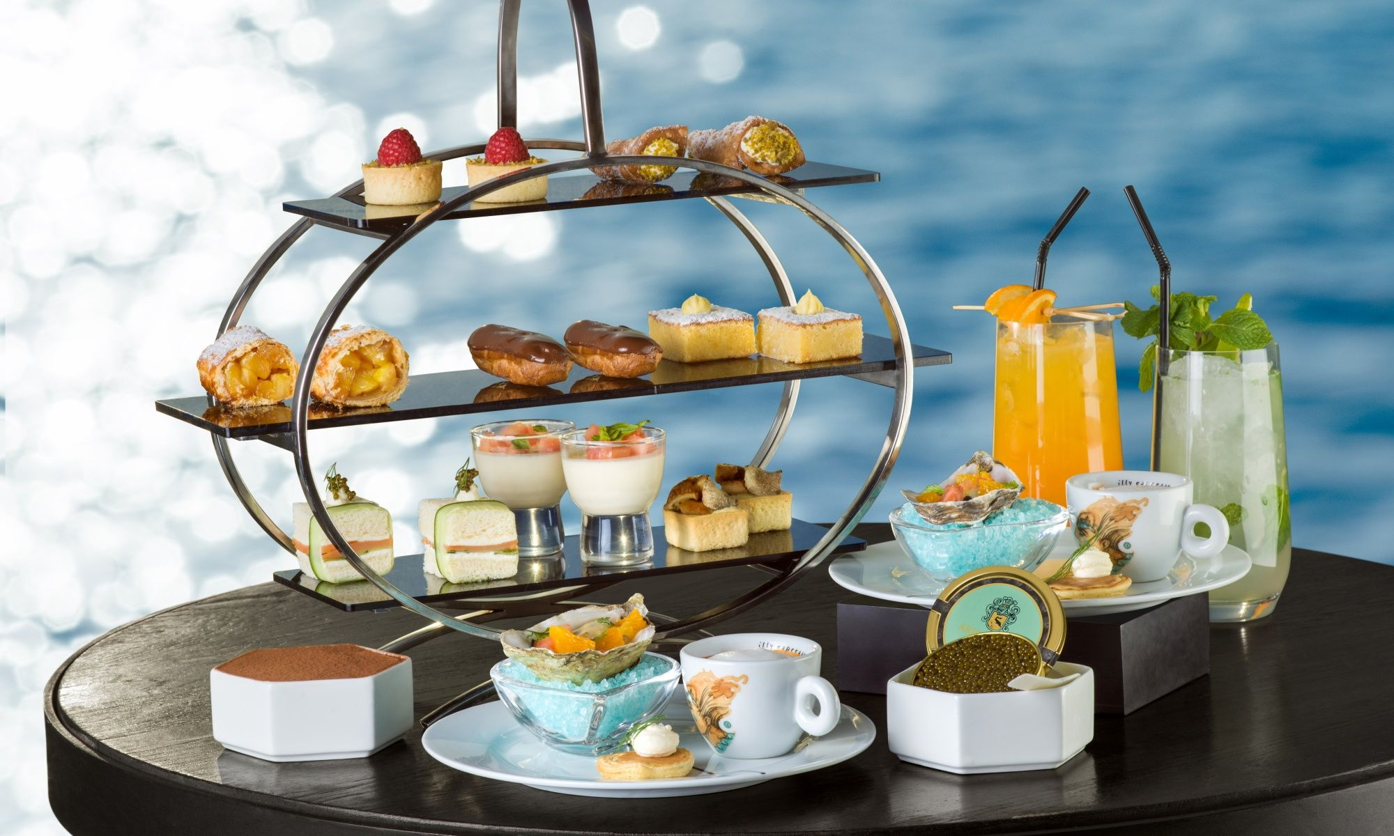 Afternoon Tea By The Harbour At Paper Moon