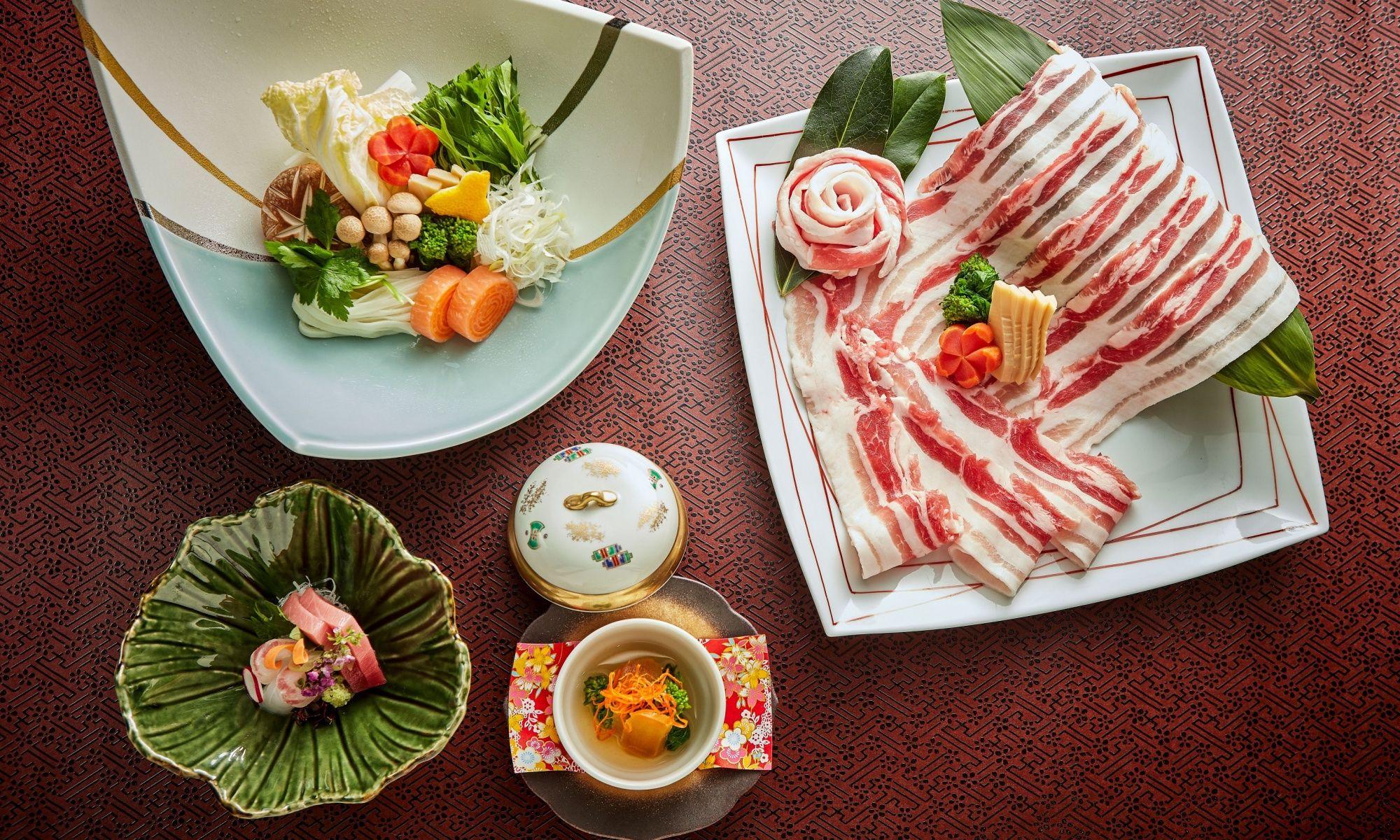 Macau's Yamazato Presents Kagoshima Berkshire Pork Shabu Shabu Kaiseki