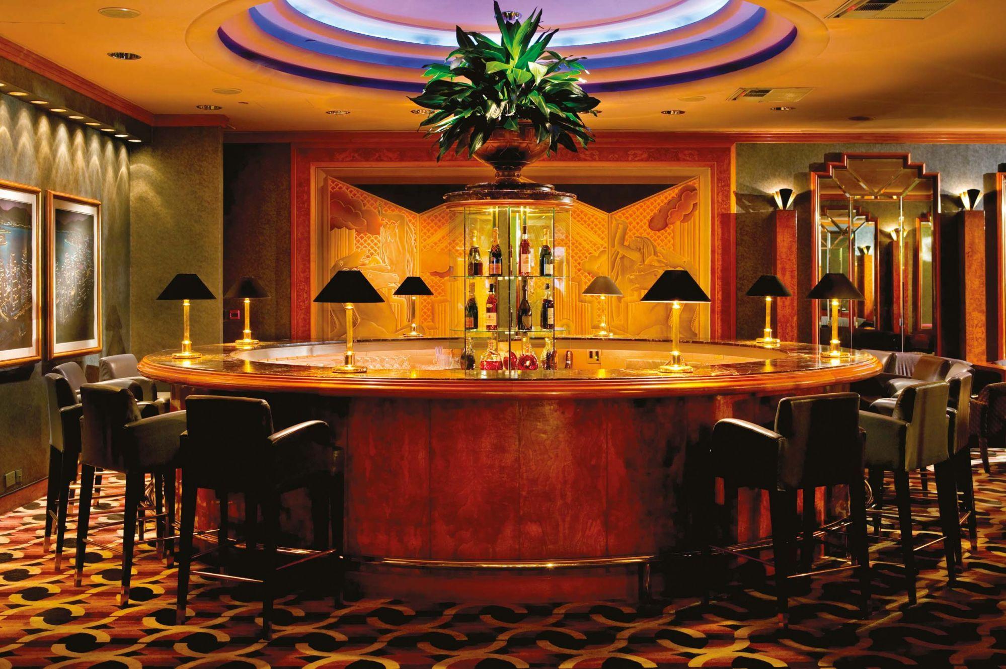 The Champagne Bar at Grand Hyatt Hong Kong