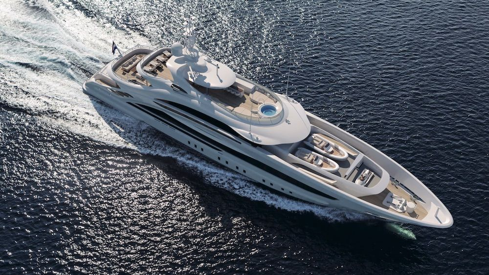 "Heesen Launches New 50-Metre Steel Class ""Project Triton"" Superyacht"