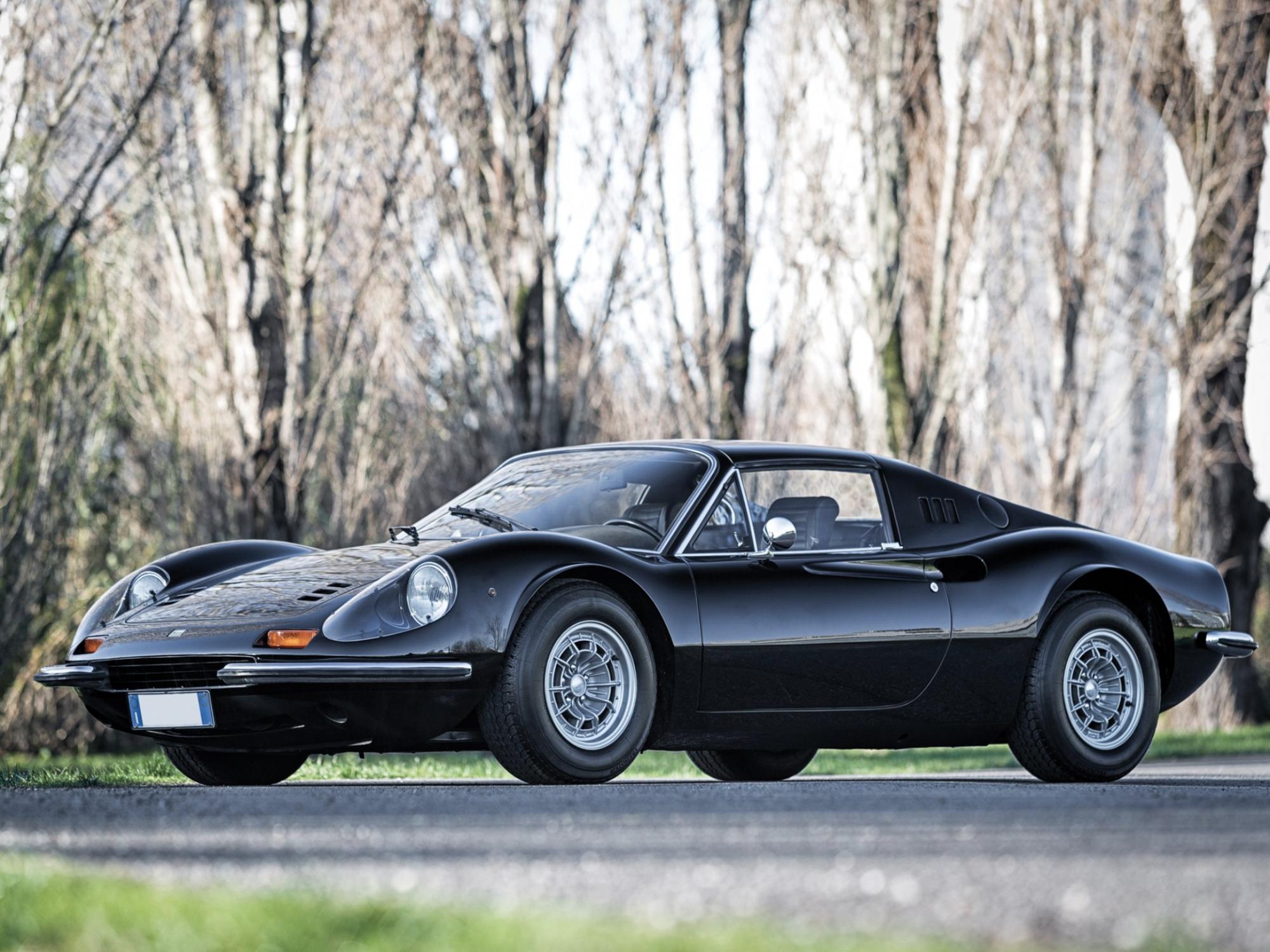 1973 Ferrari Dino 246 GTS for auction (photo: courtesy)