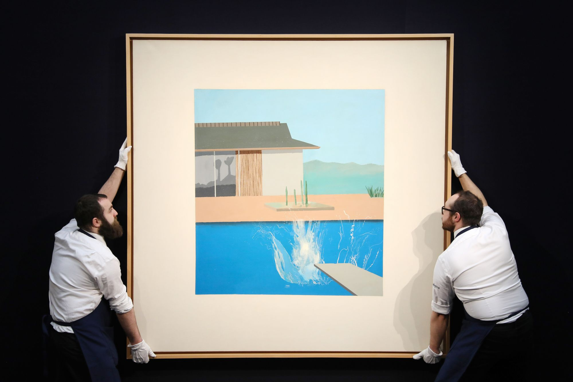 "David Hockney's ""The Splash"" Fetches Nearly US$30M At Auction"