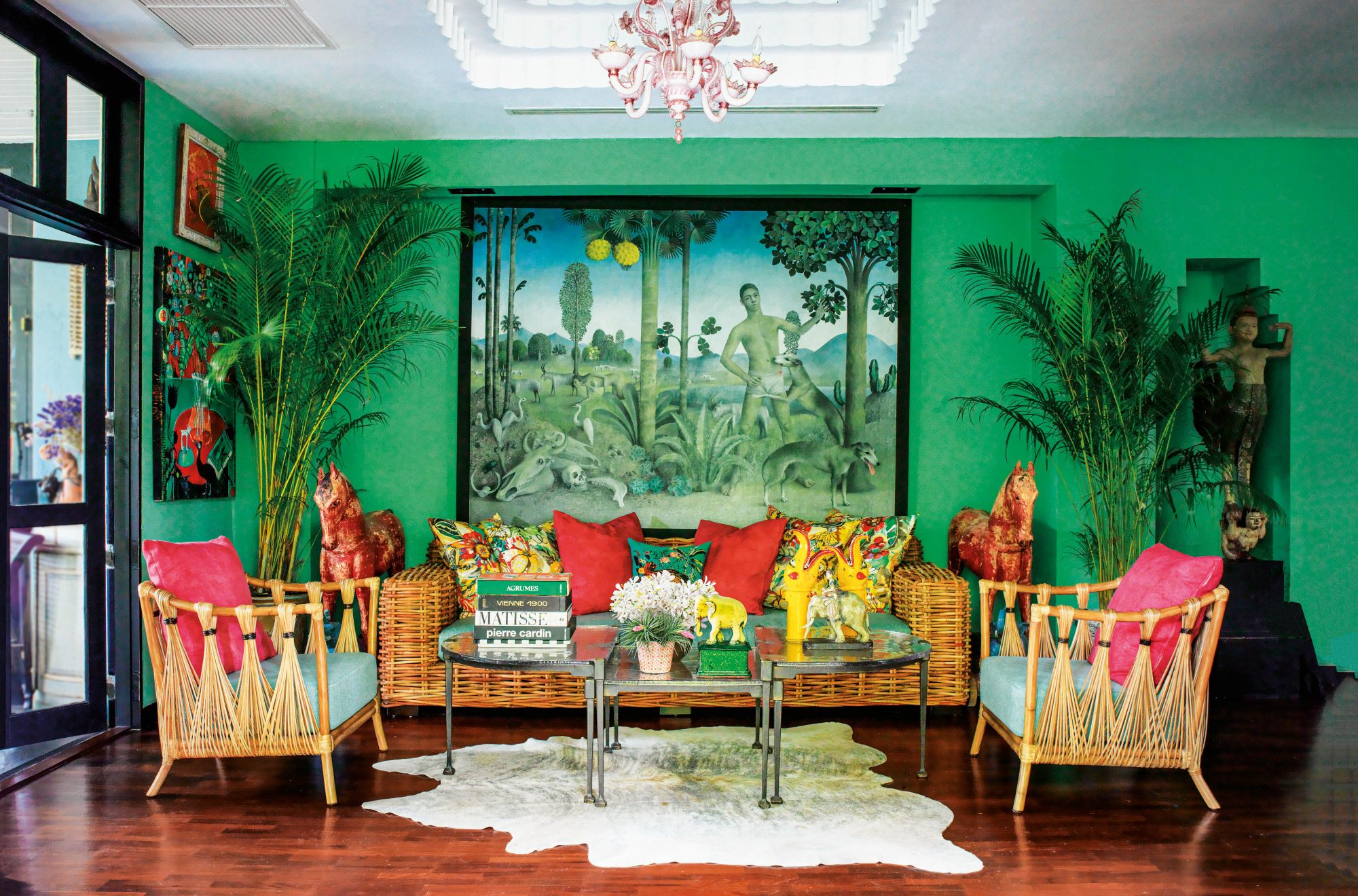 Inside Designer Bill Bensley's Magical Bangkok Home