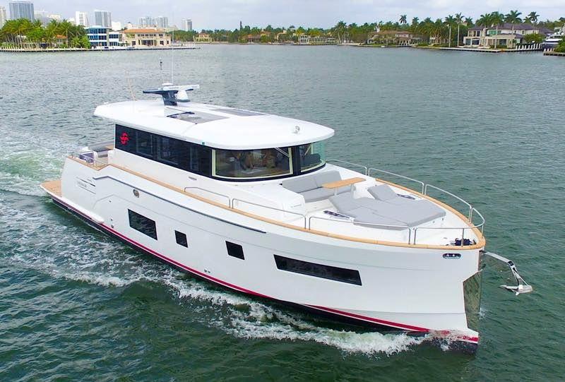 Sirena Yachts new 58 Coupé Yacht