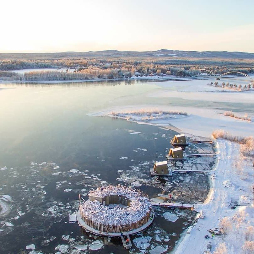 You Can Watch The Northern Lights From Your Hot-Tub At This New Spa Resort In Sweden