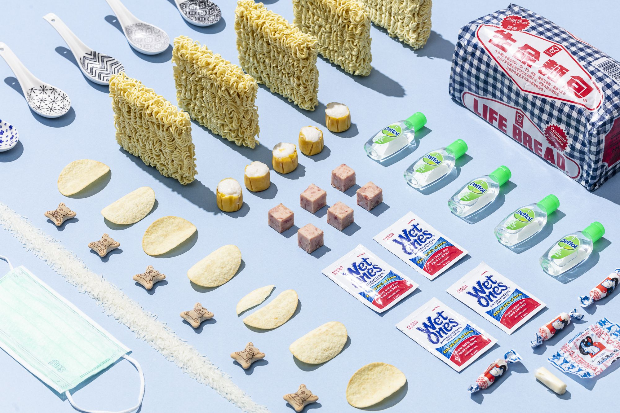 """Apocalypse Kitchen"" By Two Hong Kong Creatives Reimagines Meals In The Age Of Coronavirus"