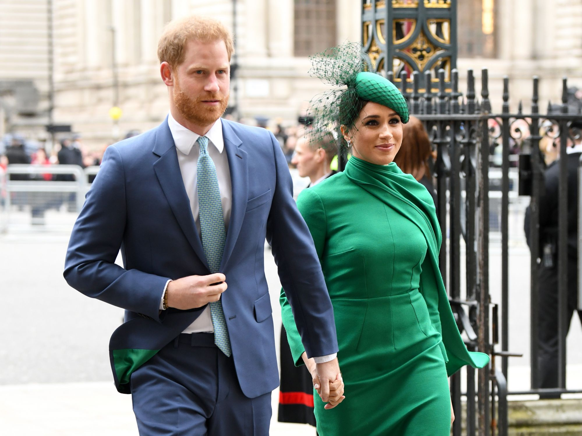Prince Harry And Meghan Markle Make Last Appearance As Senior Royals