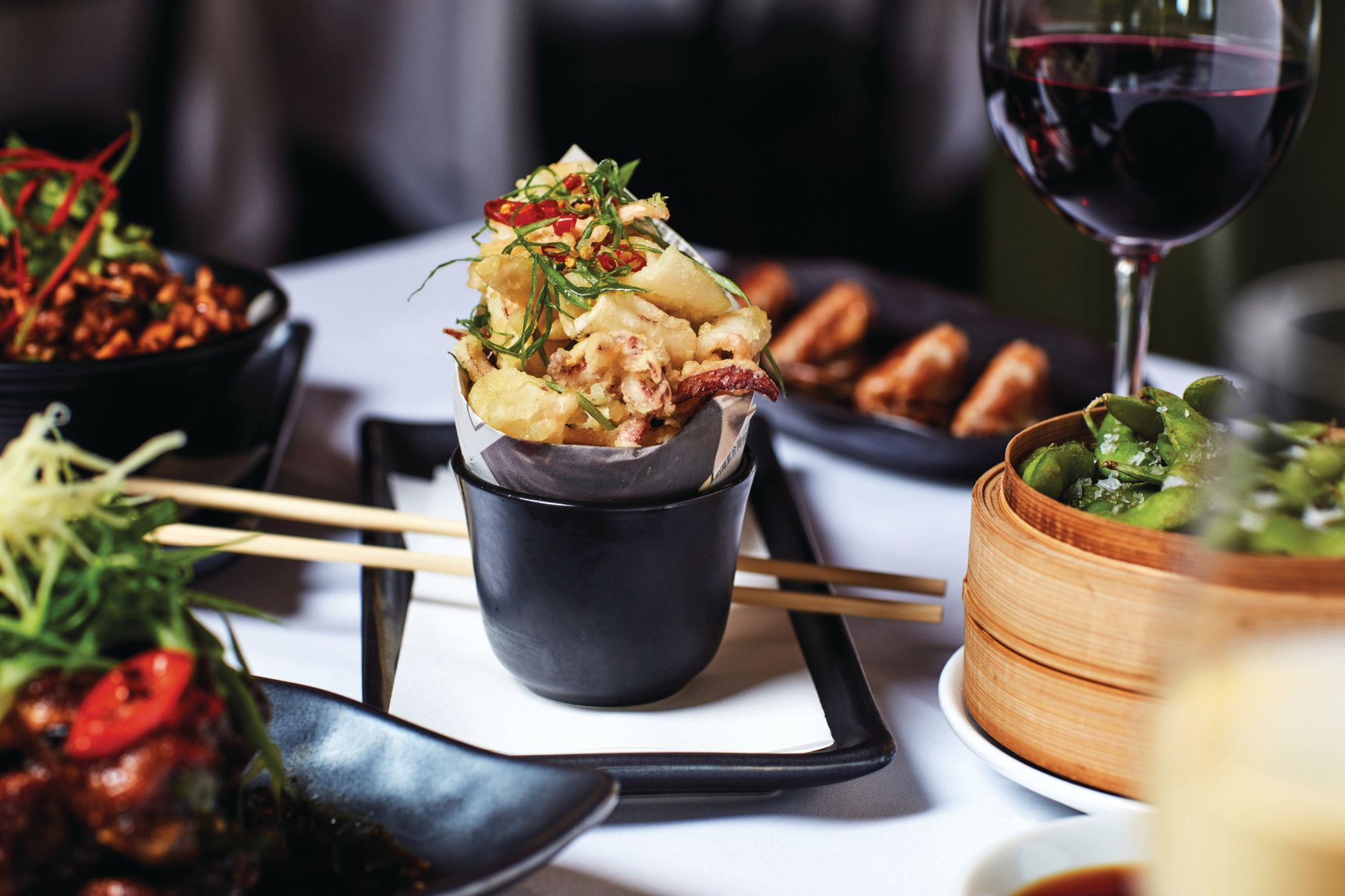 Perfect Pairings: The Best Wines To Match With Asian Food