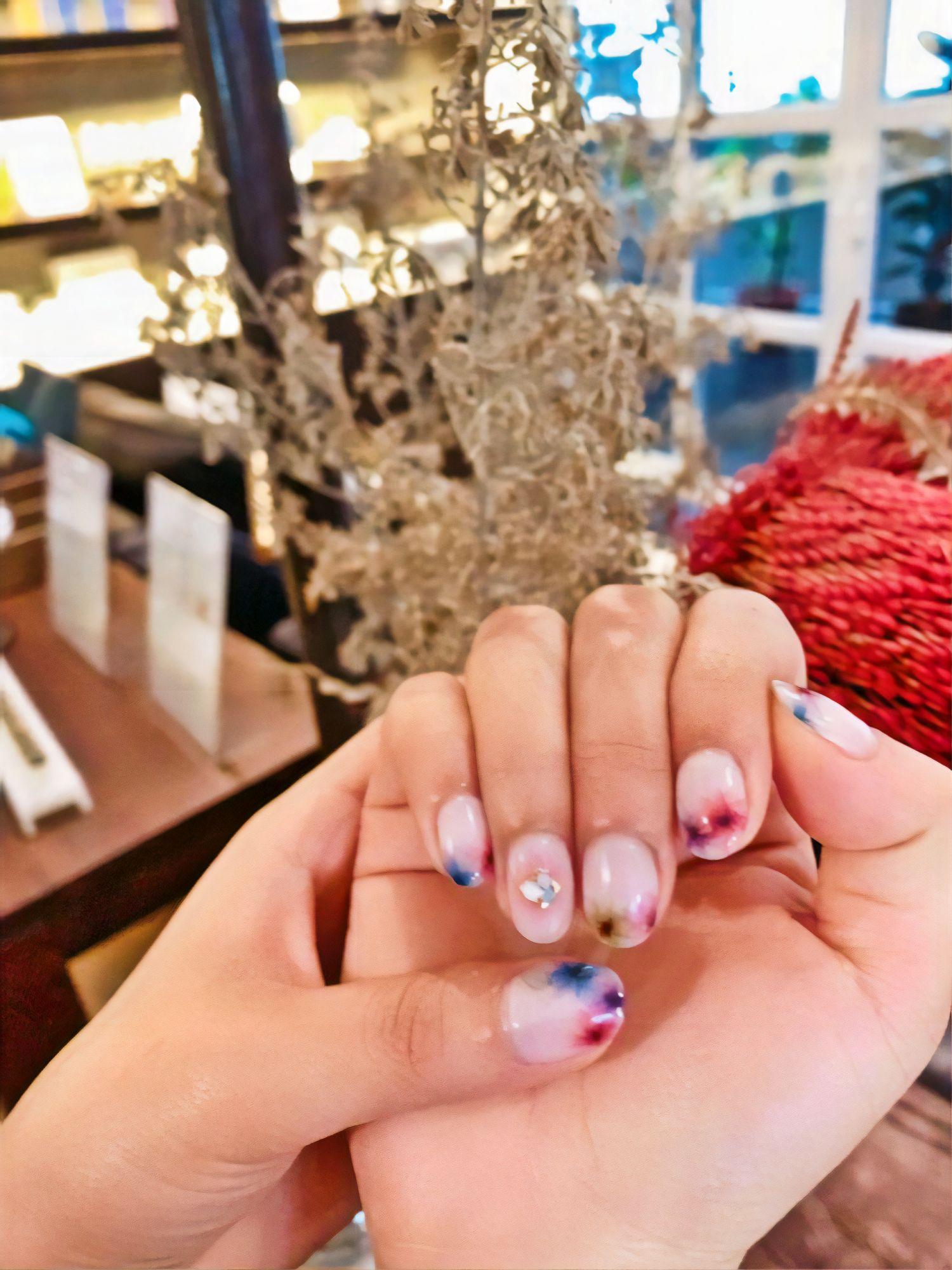 25150031 flawless spa hong kong spring nail art