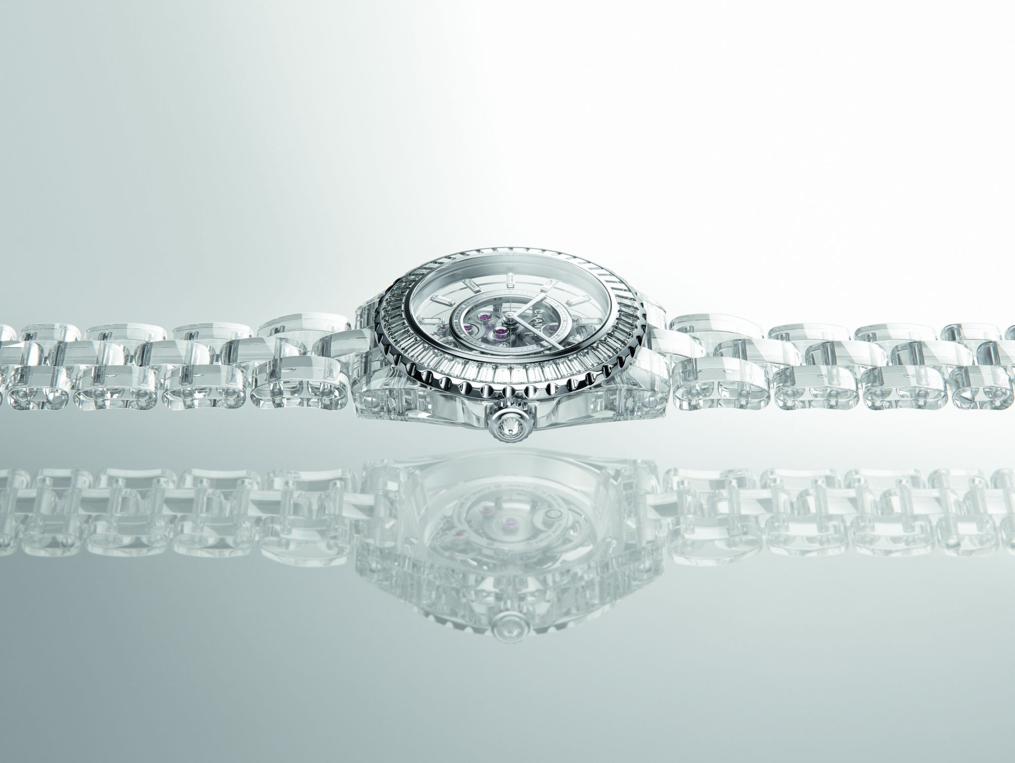 Chanel's J12 X-Ray Marks The Spot