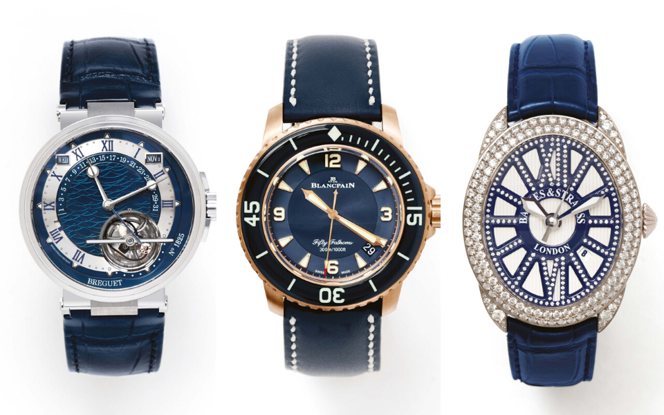 6 Watches With Striking Blue Dials