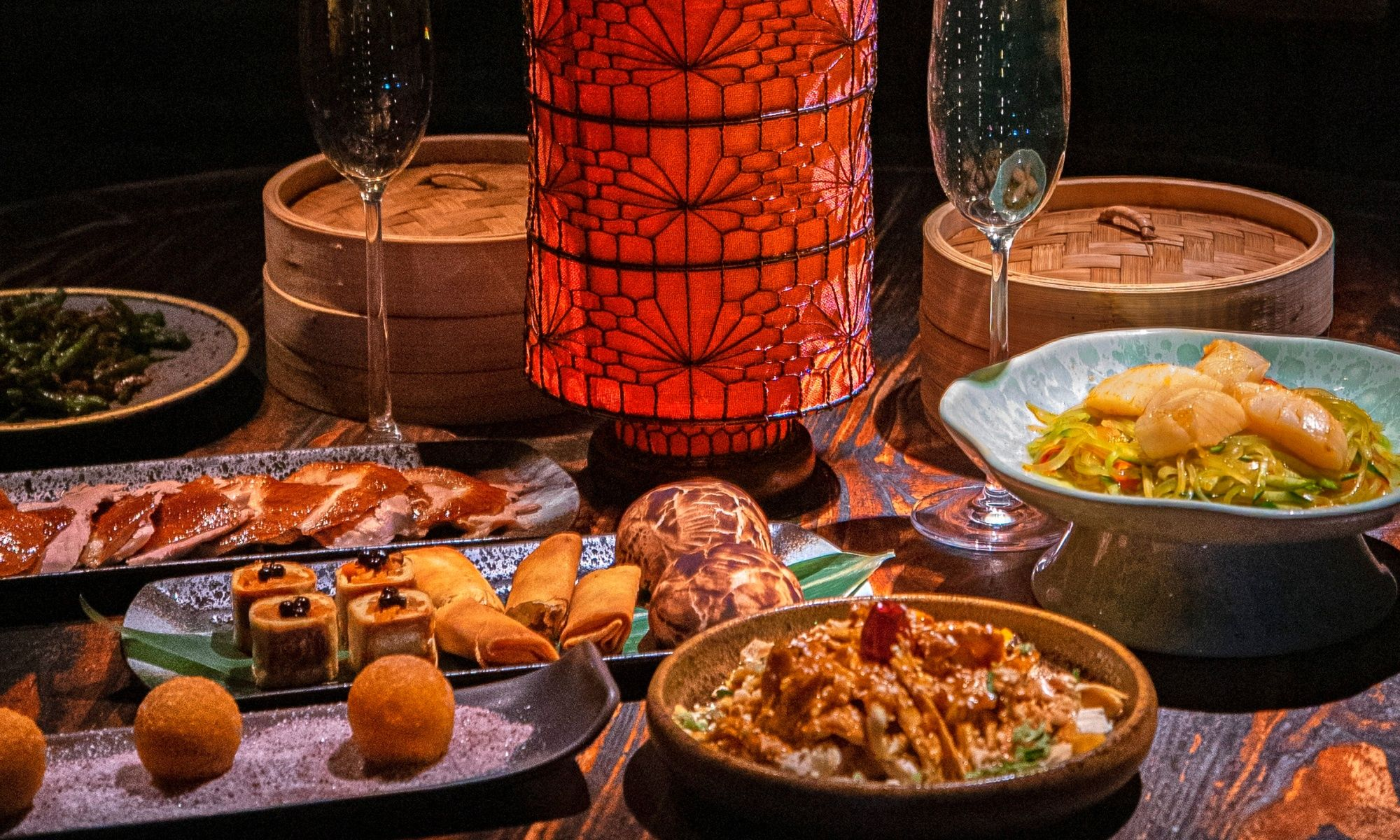 Step Outside for Hutong's New Red Lantern Evenings